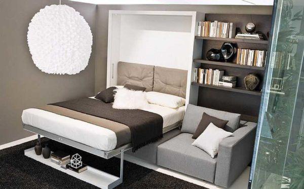Рациональное использование пространства - вот главный плюс трансформируемой мебели