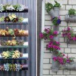 Сажать цветы можно прямо в трубы - их можно разрезать вдоль или проделать отверстия
