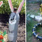 Змея из ПЭТ бутылок - это что-то новое