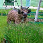Фигурки для сада из монтажной пены очень реалистичны