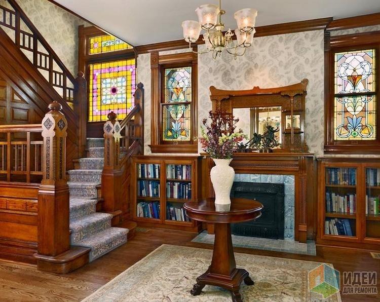 Восстановленный по старинным фотографиям викторианский интерьер, дизайн Ekman Design Studio