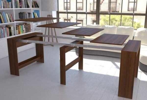 Стол-консоль - удобный вид раскладывающегося стола