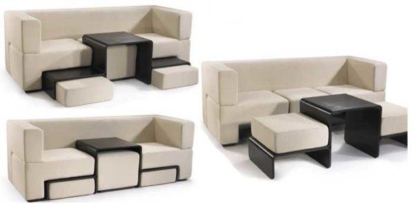 И диван, и стол, и пуфики.... Модульная мебель
