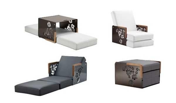 Кресло-стол-кровать-тумба... Многофункциональная мебел