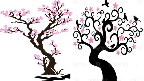 Цветущие деревья - символ весны и вечности