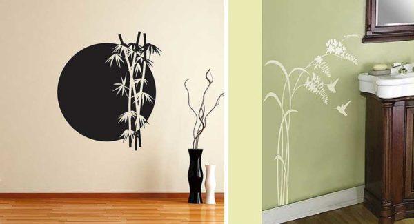 Бамбук, колоски - стили разные, но до чего красиво...