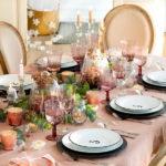 Новый год в стиле шик: 4 варианта и палитры для сервировки праздничного стола