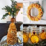 Новогодний декор из сушеных долек цитрусов: 7 мастер-классов для поклонников эко-стиля