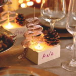 Новогоднее застолье в эко-стиле: 3 миниатюрных украшения для каждого гостя