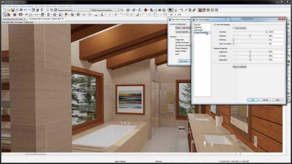 В процессе создания дизайн мансардного этажа