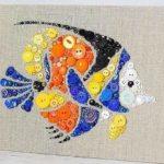 Очень яркая рыбка украсит детскую... и не только