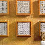 Небольшие кружевные салфетки с отдельных рамочках