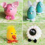 Cимпатичные животные из пасхальных яиц своими руками: 53 фото идеи и 6 мастер-классов