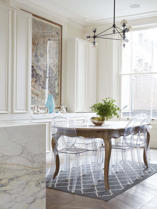 how-to-match-antique-table-and-designer-chairs1