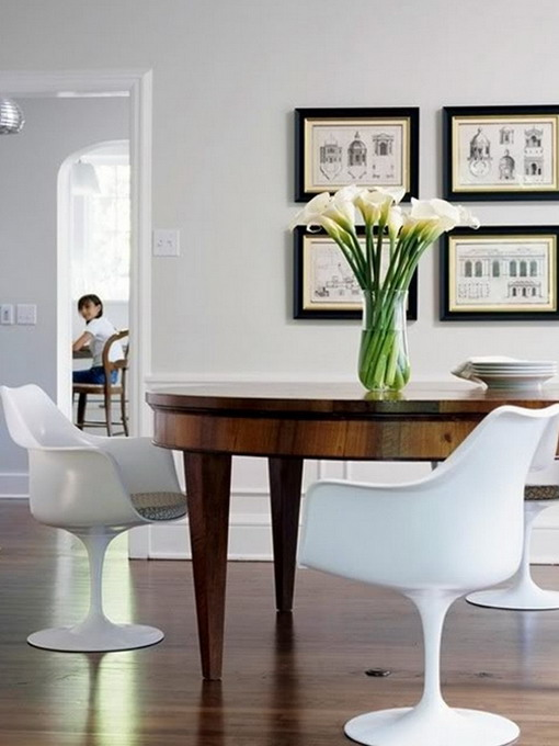 how-to-match-antique-table-and-designer-chairs6